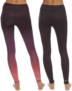 fa73d3f787cf Revolutionize your practice with these women s Champion yoga leggings.  PRODUCT FEATURES Supportive compression fit Colorblock