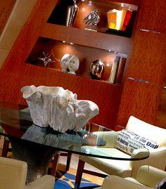 Lobby decor at the Dallas Renaissance Hotel. #dallashotels #renhotels