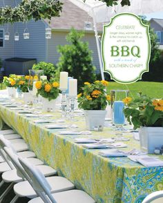 BBQ with Southern Charm