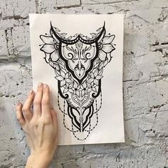 ✒ Sketcher: @elen_tattooer  #sketch #sketchtattoo #sketching #tattoo #tattooart #tattoodesign