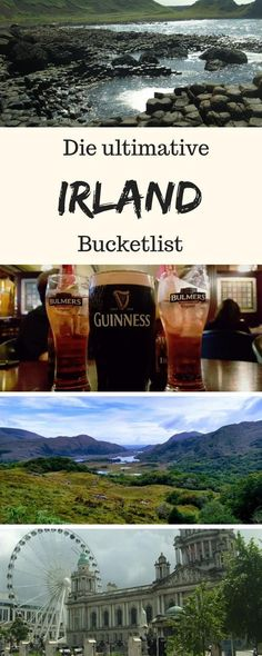 Ireland Bucket List: Ireland has definitely been one of my most beautiful travel destinations. Find my best tips for your Ireland bucket list here. Ireland Bucket List: Sightseeing & Travel Planning Tips Lärry Therelin Traveling Europe Destinations, Europe Travel Tips, Les Continents, Dublin, Travel Tags, Reisen In Europa, Countries To Visit, Destination Voyage, Backpacking Tips