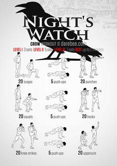 Night's Watch Workout
