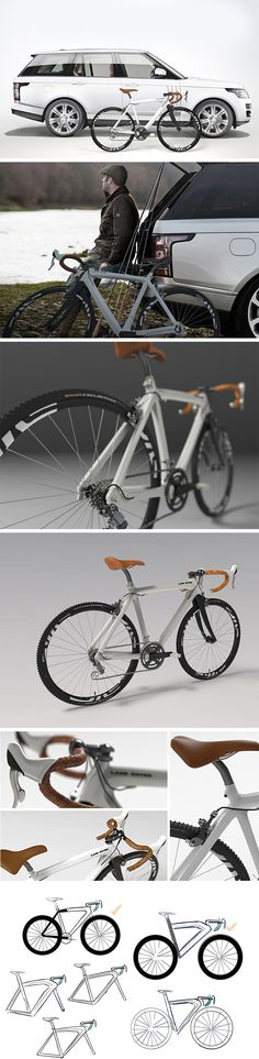 Even the early Land Rover's were a status symbol and this modern Land Rover is no exception. Demure yet aggressive, this bike translates the brand's sharp aesthetics and go-anywhere attitude in the form of a dual-purpose rock hopper.