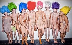 DIY Troll Doll Halloween Group Costume - maskerix.com