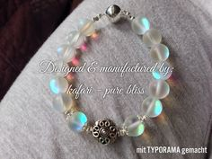 "DIY - mystic aura bead - bracelet by ""kafari - pure bliss"""