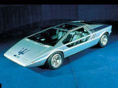 Italdesign Giugiaro Maserati Boomerang Prototype 1972