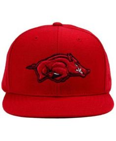 Arkansas Razorbacks Extra Logo Snapback Cap 71c9a71f53e4