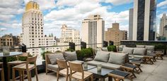 7+Gorgeous+NYC+Rooftops+You+Need+to+Sip+a+Cocktail+On+via+@PureWow