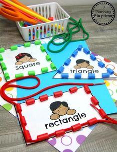 Preschool Classroom, Preschool Crafts, Preschool Shapes, Preschool Centers, Preschool Printables, Preschool Ideas, Preschool Binder, Preschool Curriculum Free, Preschool Rules