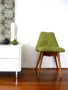 Stylish and quirky, we have fallen head over heels in love with the Grant Featherston Chair!