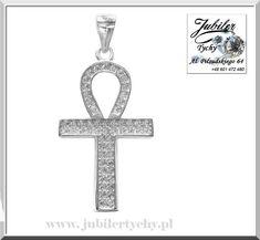 Srebrny krzyż Egipski – Ankh z cyrkoniami 💎✝️🛍🛒 Talizman życia symbolizuje siły witalne - życie, zapłodnienie ziemi przez niebo. #srebrny #krzyż #egipski #ankh #talizman #zycia #cross #silver #life #wisiorek #symbol #sily #witalne #jubilertychy #jubiler #tychy #foto #naprezent #jeweller #tyski #złotnik ➡ www.jubilertychy.pl/promocje 💎 Symbols, Letters, Letter, Lettering, Glyphs, Calligraphy, Icons