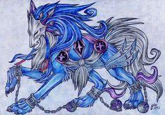 anime angel wolf | Anime Wolves Demon Wolf Performance 100