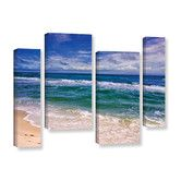 Found it at Wayfair - Changing Tides by David Kyle 4 Piece Gallery-Wrapped Canvas Staggered Set