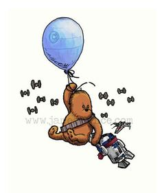 """Star Wars in """"Winnie the Pooh Style"""" 10"""