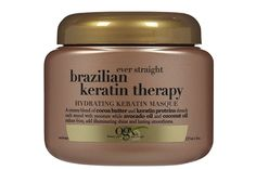 Straight Hair: Bargain Straight hair is tricky because all of your breakage is magnified. This creamy formula made up of keratin, cocoa butter, and avocado and coconut oils straightens and restores your mane while reducing frizz and bringing back that gorgeous shine. It's like a professional salon treatment for a fraction of the price.