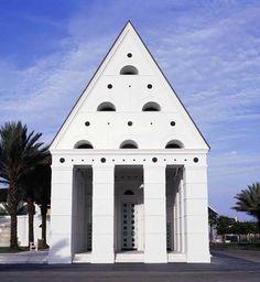 Windsor, FL Town Hall designed by Leon Krier.