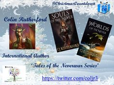Day 2 #ChristmasCountdown with @UKIndieLitFest1 Colin Rutherford