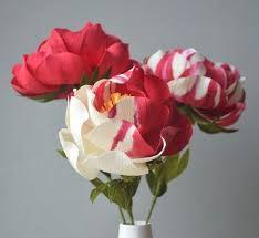 Resultado de imagen para flores en papel