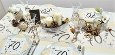 Table Decorations, Home Decor, Numbers, Birthday Celebrations, Decorating, Homemade Home Decor, Interior Design, Home Interiors, Decoration Home