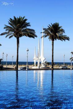 Alexandria, Egypt: Statue at Selsela