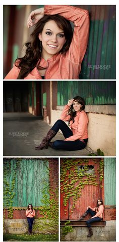 Caitlyn | Class of 2012 | Frankfort, IL Senior Photography | Susie Moore Photography... I love the colors and the scenery