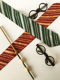 Hogwarts House Ties DIY – Mad Like Alyce