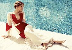 Emily Blunt covers July 2014 Harper's Bazaar | Harper's Bazaar