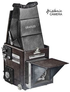 8d69cb81f7 Graflex RB Super D - an early 120 reflex camera with a very interesting