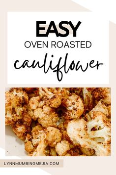These are the best and easy oven-roasted cauliflower recipe out there! The olive oil helps the cauliflower crisp up and the cumin elevates its flavour! It is the perfect dinner recipe for vegan and vegetarian guests as well as the perfect side for all meals. The seasoning mix for this roasted cauliflower recipe is super easy and anyone can do it! Read the full recipe on Easy Roasted Cauliflower on the blog now! #roastedcauliflower #cauliflower #vegetarianmeal #veganmeal #vegetariansidedish Quick Vegetarian Meals, Vegetarian Side Dishes, Oven Roasted Cauliflower, Cauliflower Recipes, Grilled Meat, Vegan Recipes, Dinner Recipes, Cooking, Healthy