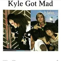 When kyle gets mad