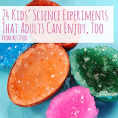 Ok, guilty-pleasure time... at least this time it's a list of really fun #science experiments that both kids and adults can enjoy! Check it out: http://www.buzzfeed.com/peggy/kids-science-experiments-that-adults-can-enjoy-too