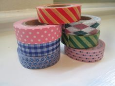 Washi Tape Roll in Argyle Print by WashiWishes on Etsy, $2.25