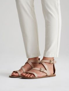Cent Sandal in Italian Leather