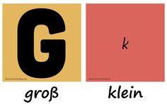 groß - klein - Adjektive - Deutsch Adjektive - deutsche Adjektive - Adjektive Deutsch - Adjektive Übungen - Adjektive Bilder