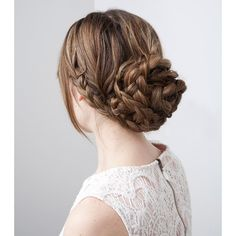 In the Thick of It 3 Fancy Hairstyles for Thick Hair ❤ liked on Polyvore featuring beauty products, haircare, hair styling tools, hair, hairstyles and hair styles