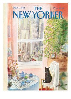 Copertina - The New Yorker - 1 marzo 1982 (Jean-Jacques Sempé)
