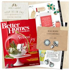 Peep us in the press: Better Homes and Gardens, December 2014!