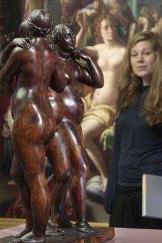 """Ausstellungsansicht """"Sturz in die Welt. Die Kunst des Manierismus in Europa"""""""