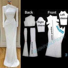 Source by faffifuu fashion sewing Dress Sewing Patterns, Clothing Patterns, Coat Patterns, Fashion Sewing, Diy Fashion, Sewing Clothes, Diy Clothes, Couture Sewing, Pattern Cutting