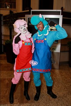 X Character Reese and Cyrus Series Animal Crossing & Lilo and Stich | Annual Halloween Costume Contest Entries | Pinterest