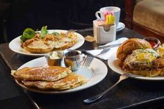 Best Brunch in NYC: Good Brunch Spots to Try in Every NYC Neighborhood - Thrillist Brunch Nyc, Brunch Spots, Rooftop Restaurants Nyc, Steak And Eggs, Bloody Mary, Fried Chicken, Cravings, The Neighbourhood, Bacon