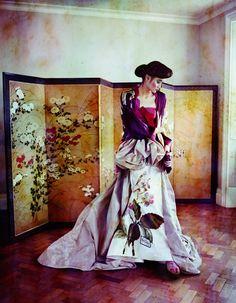 kimono like dress:)