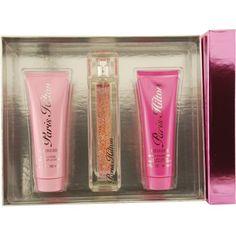 Paris Hilton Heiress Paris Hilton Set (Eau De Parfum Spray and Body Lotion and Shower Gel