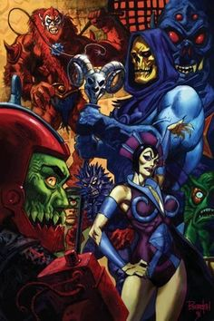 Masters of the Universe by Dan Brereton