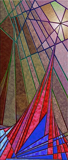 wormwood - Optical Obsession cast in Virtual Shattered Glass by Douglas Christian Larsen - http://www.imagekind.com/wormwood_art?imid=da538926-bf4b-47ee-bcd8-6c3d97e7b2f3