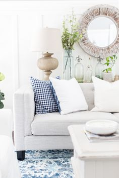 Summer living room | Craftberry Bush