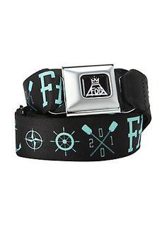Fall Out Boy Anchor Seat Belt Belt, Hot Topic