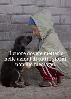 Tumblr Quotes, Wise Quotes, Words Quotes, Respect Life, Italian Quotes, Quote Backgrounds, Dog Memes, Beautiful Words, I Love Dogs