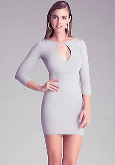 9526a1eb963 Metallic 3 4 Sleeve Dress