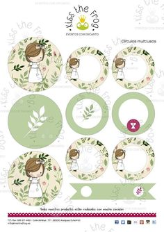 First Communion Printable Kit Happy Party, Flag Banners, First Communion, Recipe Cards, Diy Cards, Scrapbook Paper, Birthday Cards, Diy And Crafts, Place Cards